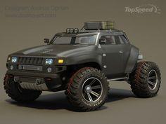Hummer HB concept car