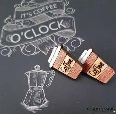 Καφές και στα σκουλαρίκια μου! Εσύ πόσο καφέ αντέχεις; Creation Crafts, Diy And Crafts, Greek, Crafting, Diy Projects, Mom, Greek Language, Do Crafts, Crafts