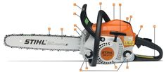 Out fav. Brand saw most of what we own is stihl