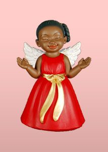 It's A Black Thang.com - African American Angel Figurines