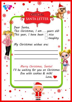 Hope you've all been good this year! Santa is working hard this week to make sure kids all over the world get the toys and gifts they want! Write Santa a letter so he knows what you want for Christmas! Christmas Apps, Christmas Wishes, Christmas Eve, Holiday Games, Know What You Want, Santa Letter, Working Hard, Dear Santa, Happy Holidays