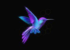 Red Bird Tattoos, Lioness Tattoo, Hummingbird Pictures, Bird Drawings, Rock Crafts, Black Paper, Beautiful Tattoos, Bird Art, Pattern Wallpaper