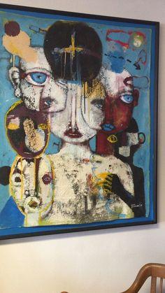 Artist Michael Banks original oil on canvas Michael Banks, Luxury Sale, Oil On Canvas, Folk Art, Primitive, The Originals, Artist, Painting, Ebay