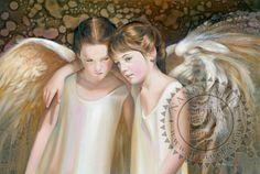 Nancy Noel Paintings | Always - Angel - The Sanctuary: The Art of Nancy Noel