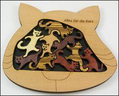 Alles fur die Katz (Katzen) - Brain Teaser Puzzle