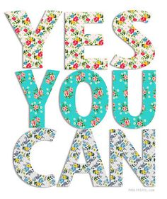 Yes you can! Don't let the words of others keep you from reaching your goals. Self Improvement Quotes, The Words, Inspire Me, Just In Case, Decir No, Me Quotes, Daily Quotes, Affirmations, Inspirational Quotes