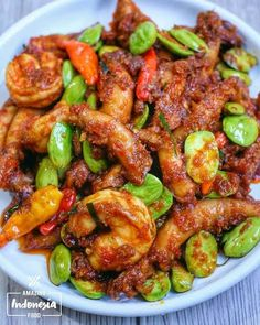 Secret Recipe, Indonesian Food, Fish And Seafood, Kung Pao Chicken, Cilantro, Food And Drink, Sea Food, Cooking, Ethnic Recipes