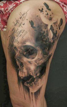 A tattoo by Florian Karg.