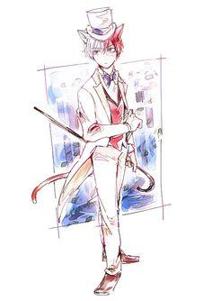 Boku no Hero Academia    Todoroki Shouto he looks like Baron from the Cat Returns