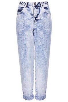 MOTO Lilac Acid High Waisted Jeans - Jeans  - Clothing