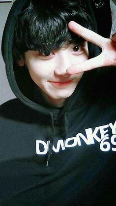 Chanyeol ❤ Oppa 💙👀 Exo ✌ Exo_k Kaisoo, Chanbaek, Exo Ot12, Exo Chanyeol, Kpop Exo, Exo K, Kyungsoo, Baekhyun Selca, Shinee
