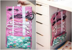 DIY Home and Away Cable Cozy. #DIY #Sewing #Crafts