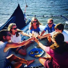 Making the Moonraker sunset sail a family tradition, 5 years and counting for The Smith Family. Always glad to see them aboard. Indian River Lagoon, Vero Beach Florida, Sailing Catamaran, Family Traditions, Traditional, Sunset, Sunsets