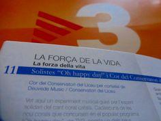 "DEUVEDE MUSIC en el ""Disc de LA MARATÓ 2013"" #LaMarato #TV3 #Solidaridad"