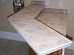 Kitchen Countertop Tile Design Ideas | ... Tile Countertops Pictures for Kitchens – Kitchen Design Inspiration