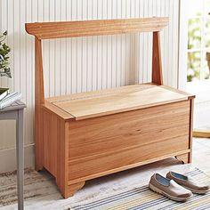 Indoor/Outdoor Entry Hall Storage Bench
