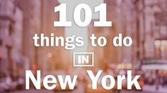 Discover the best things to do in NYC according to critics and locals—including amazing places to eat and drink, must-see museums and the best nightlife in NYC