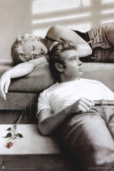 Marilyn e James Dean