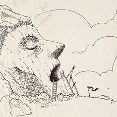 #art #artist #instaart #instaartist #artsanity #arthabit #sketch #dan_ene #alsace #strasbourg #dailysketch #dailypic #dailyart #dailydrawing #drawing #illustration #doodle #lineart #markers #weird #spooky #instadaily #ink #pen  #monument #forgotten #forgottenplaces #Photoshop