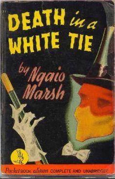 Pocket Books - Death In a White Tie - Ngaio Marsh / Gerald Gregg artwork