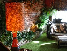 Interior of the Graceland Mansion of Elvis Presley, Memphis, Tennessee - Travel Photos by Galen R Frysinger, Sheboygan, Wisconsin