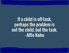 Progressive education wisdom...