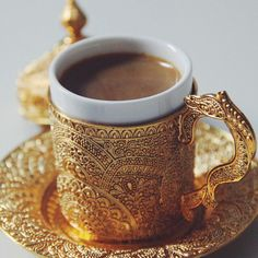 Arabic coffee…yum!
