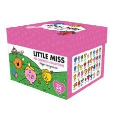 Little Miss books! Robert wants these and the complete collection of Mr. Men books to read to his future children.