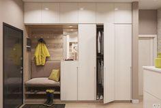The Best 2019 Interior Design Trends - Interior Design Ideas Wardrobe Design Bedroom, Interior Design Living Room, Home, Closet Design, Bedroom Design, Hallway Cabinet, Apartment Design, Hallway Furniture, Hallway Designs
