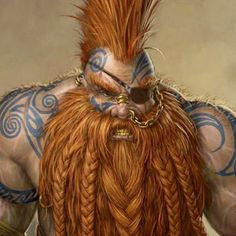 Male Mountain Dwarf -- Princes of the Apocalypse - Gholin's Journal - Community - Google+ #dwarf #orangebearddwarf