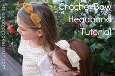 If you can crochet a scarf, you can make this headband.