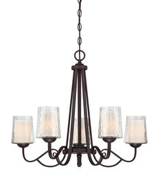 South Shore Decorating: Quoizel ADS5005DC Adonis Transitional Chandelier QZ-ADS-5005-DC