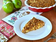 Passover Apple Pecan Pie - Simple Passover Dessert More