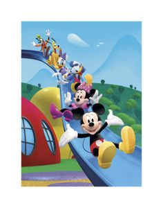 Mickey Mouse Clubhouse: Friends Equals Fun Art Print from £5.99 28 x 36cm #