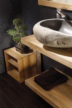 Clean én gezellig: 5 tips om je badkamer in te richten  #sallesdebain #francedecoration #designinterieur http://www.delightfull.eu/en/