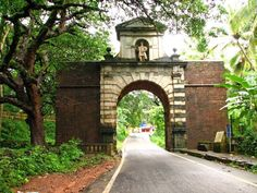 The Viceroys Arch A Great Example of Portuguese Architecture in Goa.
