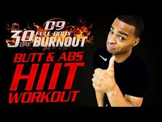 30 Min. Butt & Abs HIIT Workout | Day 09 - 30 Day Full Body Burnout - Millionaire Hoy