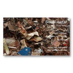 Scrap metalmediumg 16981131 recycling pinterest scrap scrap metal recycling business card reheart Gallery