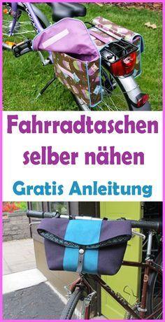 Nahanleitung Umhangetasche Und Fahrradtasche Fahrradtasche Taschen Nahanleitung