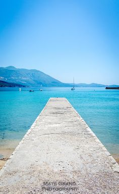 Blue Sea of Mlini, Croatia