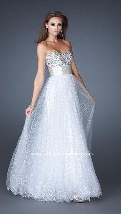 { 18910 | La Femme Fashion 2013 } La Femme Prom Dresses - Ball Gown - Sequins - Gorgeous