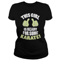Ready for Karate Tshirt
