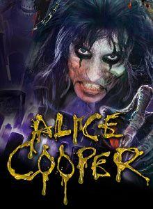I've seen Alice Cooper in concert 5 times.