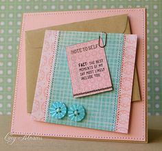 Note to Self by Lucy Abrams, via Flickr