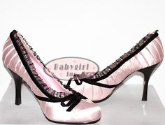 I have these babydolls in black and red.