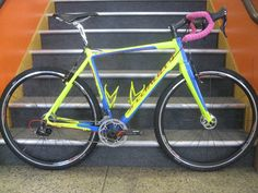 bike and fitness company: Project Bike: Neon Skittles finished