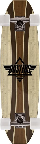 Dusters Bamboo Even Complete Skateboard Cruiser – 9.3″ x 33″