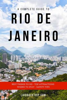We spent three days in Rio de Janeiro and put together our ultimate guide on the best things to do, top attractions, where to stay and how to stay safe while visiting the city. South America Destinations, South America Travel, Machu Picchu, Bolivia, Ecuador, Amazing Destinations, Travel Destinations, Patagonia, Puerto Natales