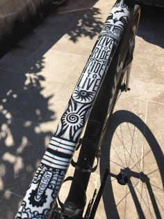 CYCOLOGY Aztec Bike Wrap, Protects your bike frame, transforms your bike into a piece of art and you can choose the reflective finish for extra safety at night.