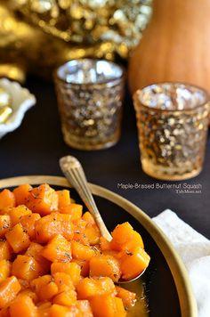 This Maple Braised Butternut Squash looks amazing!